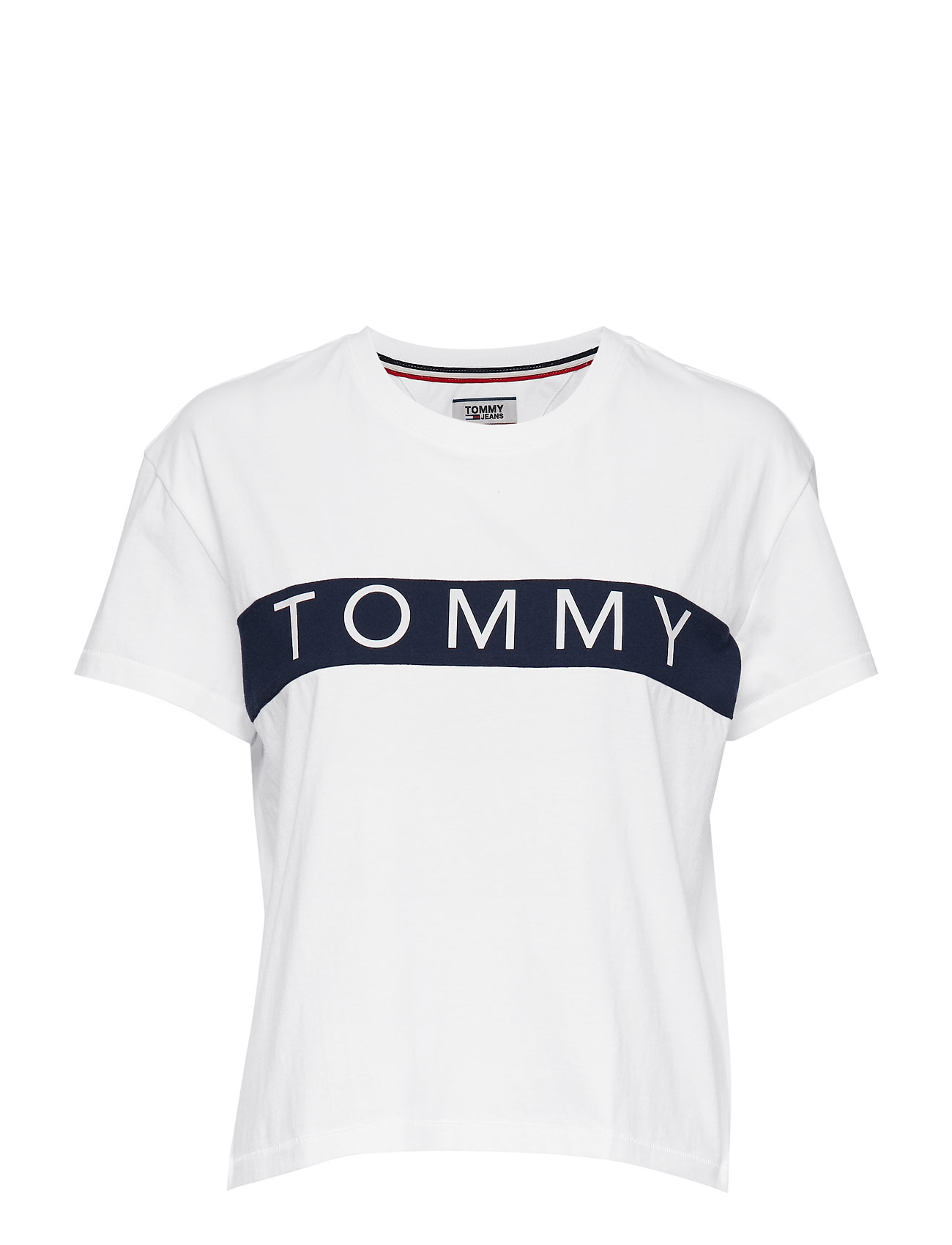 783cdac4abed12 Tjw Tommy Bold Logo Tee (Bright White) (29.19 €) - Tommy Jeans ...