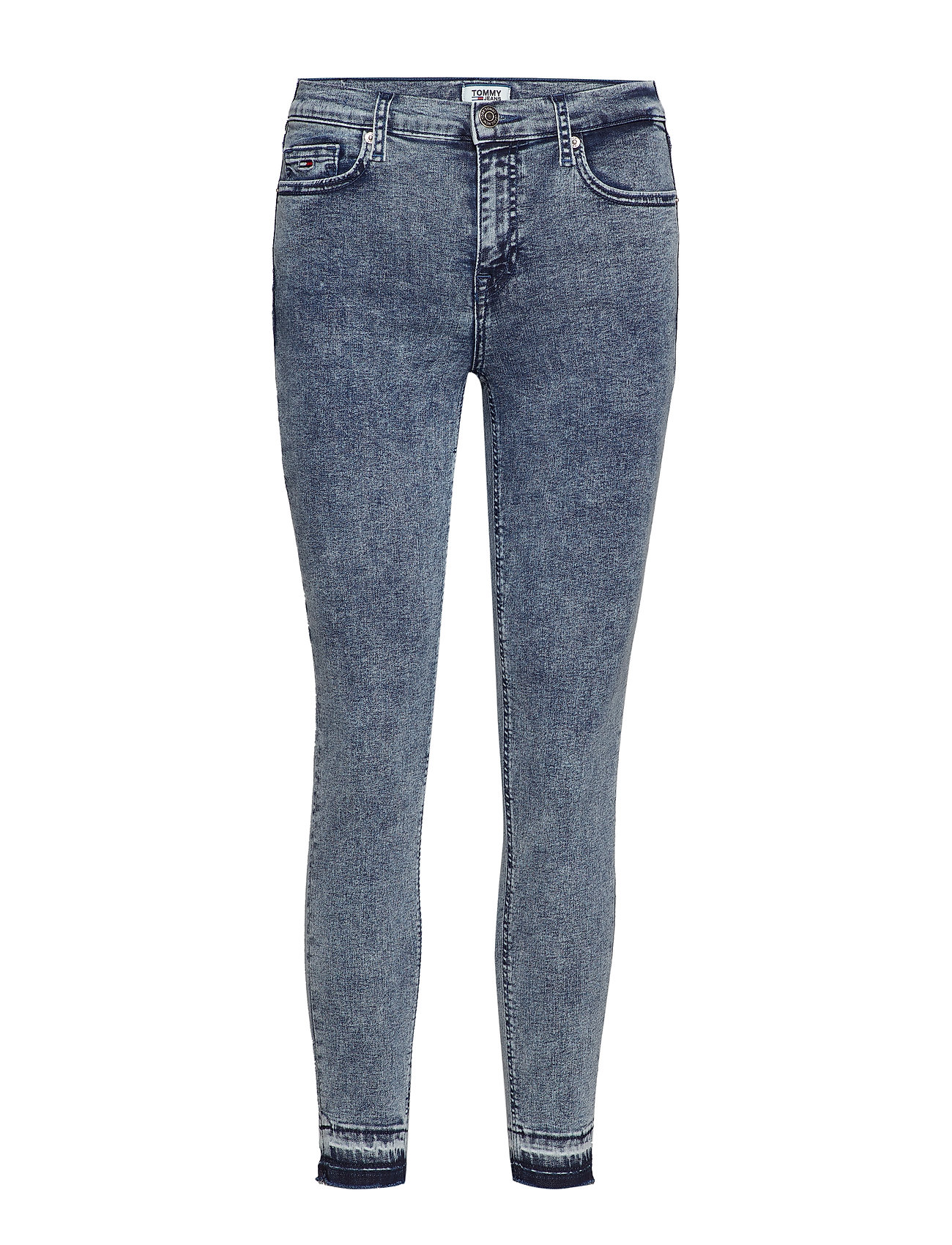 Tommy Jeans MID RISE SKINNY NORA - 80'S BLUE STRETCH