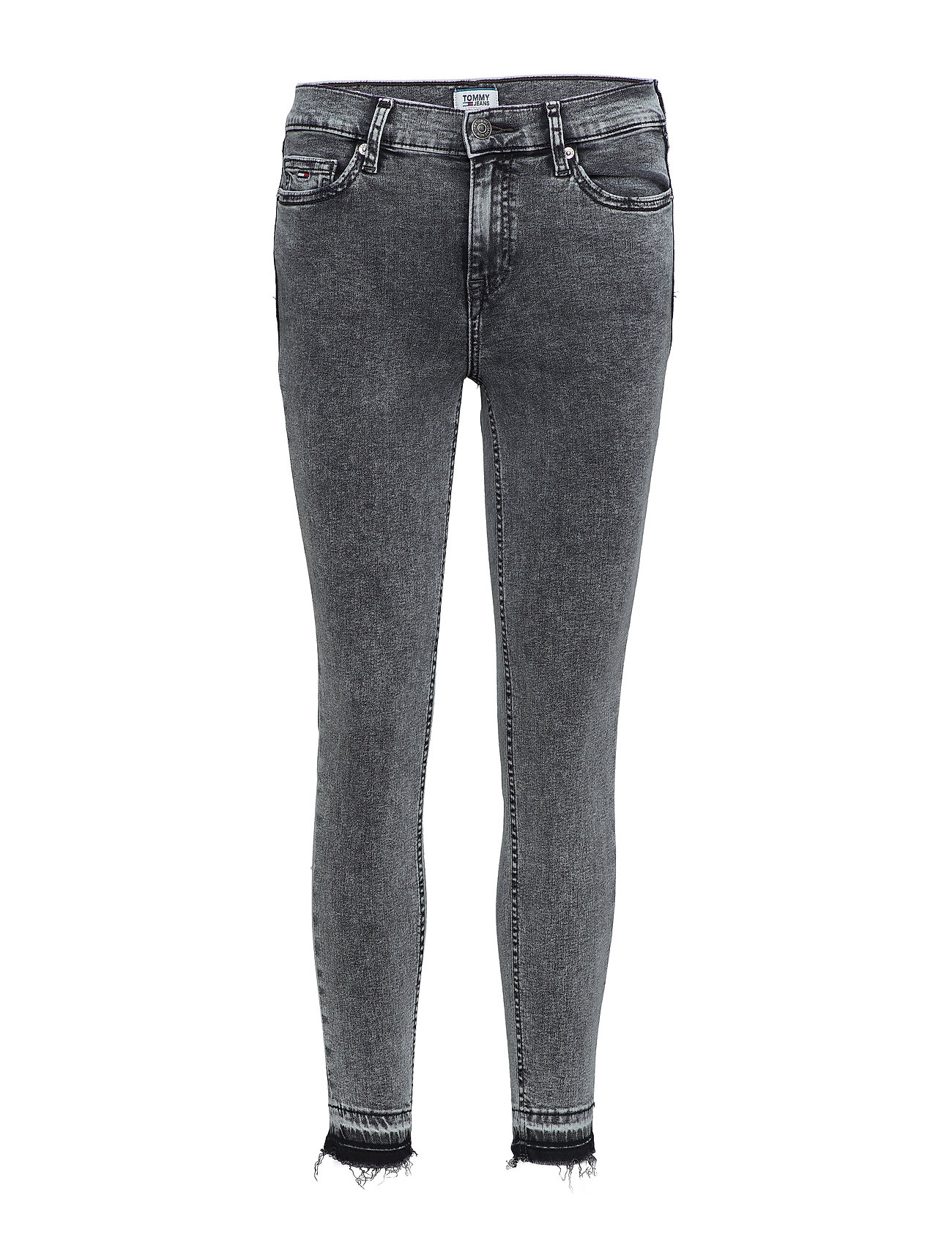 Tommy Jeans MID RISE SKINNY NORA - 80'S BLACK STR