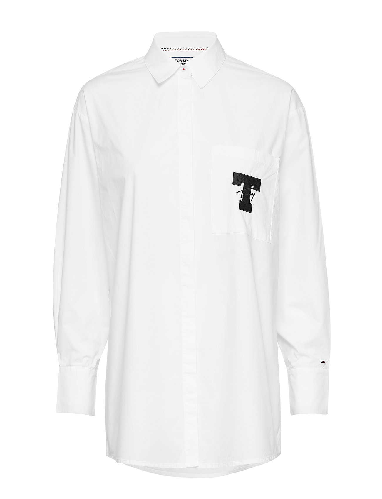 Tommy Jeans TJW SOLID TOMMY DETA - CLASSIC WHITE