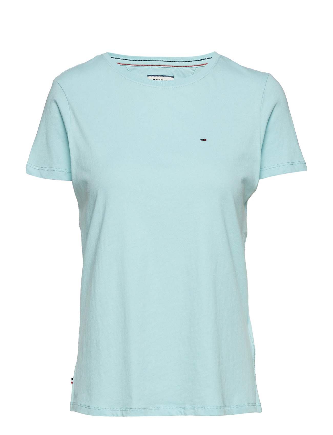 Tommy Jeans TJW SOFT JERSEY TEE, - CANAL BLUE