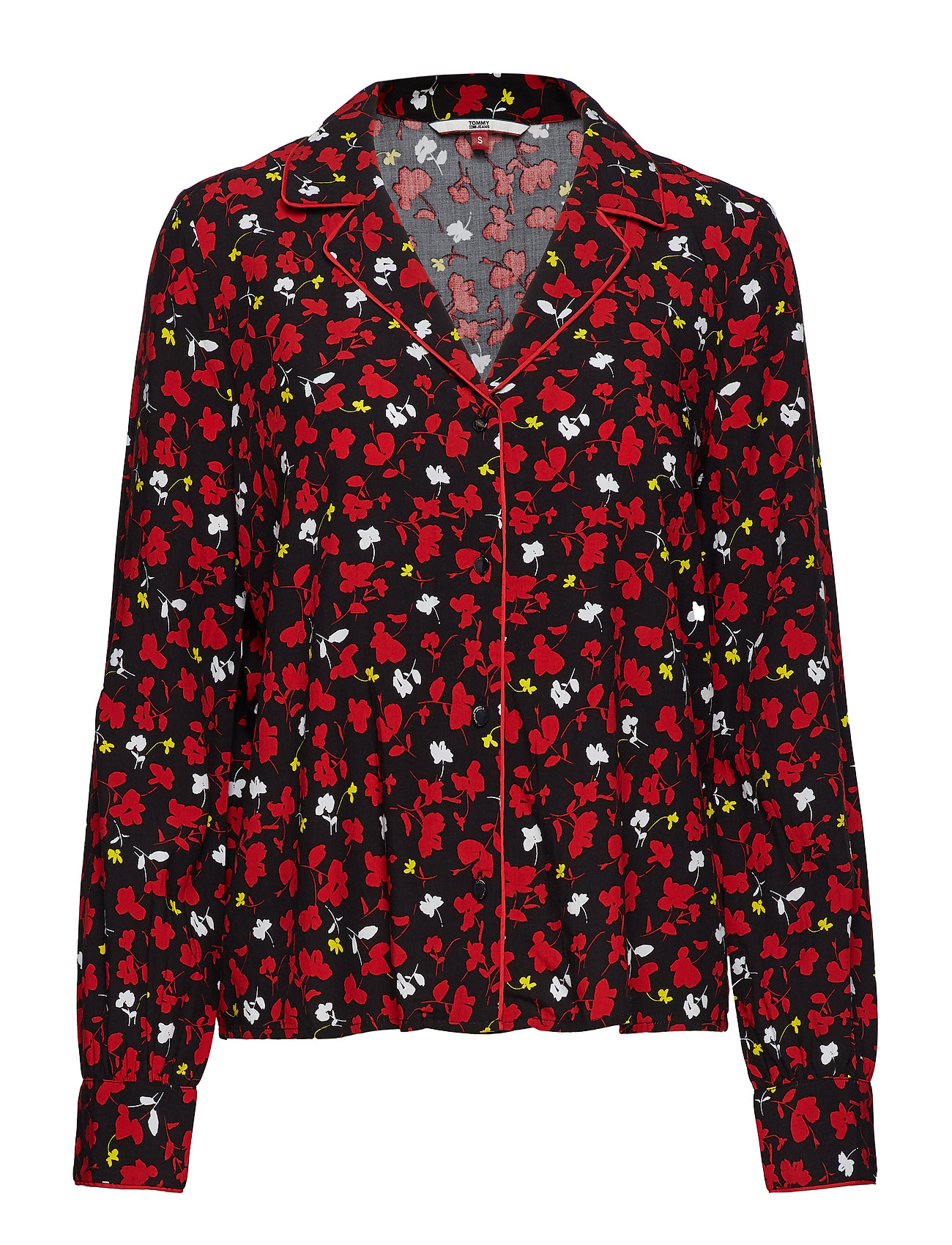 Tommy Jeans TJW PRINTED OPEN NEC - FLORAL PRINT SMALL / MULTI
