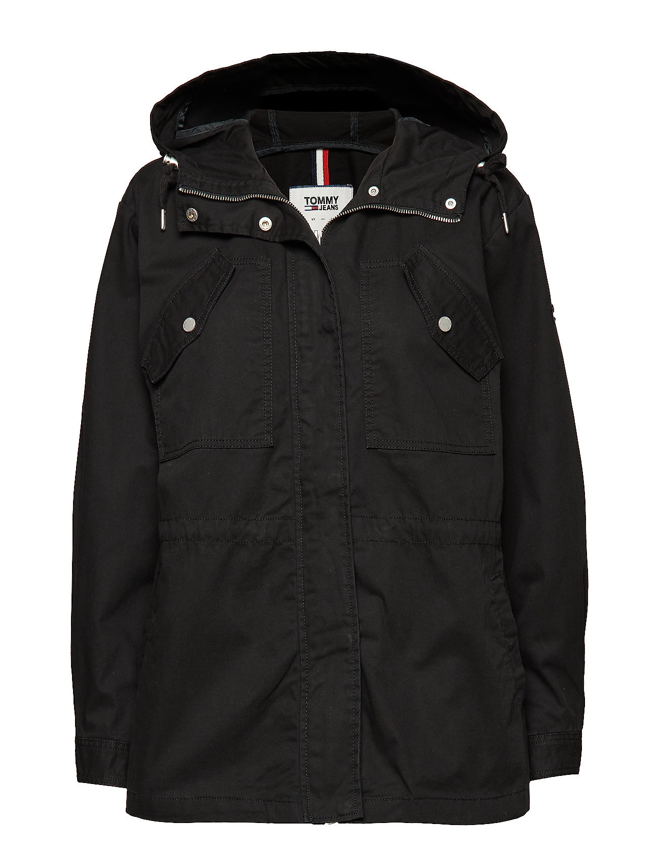 Tommy Jeans TJW ESSENTIAL COTTON - TOMMY BLACK