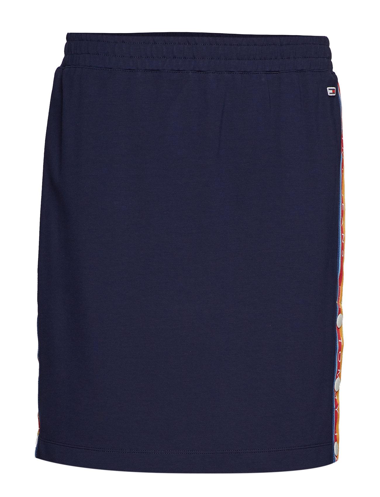 Tommy Jeans TJW POPPER TRACK SKIRT - BLACK IRIS