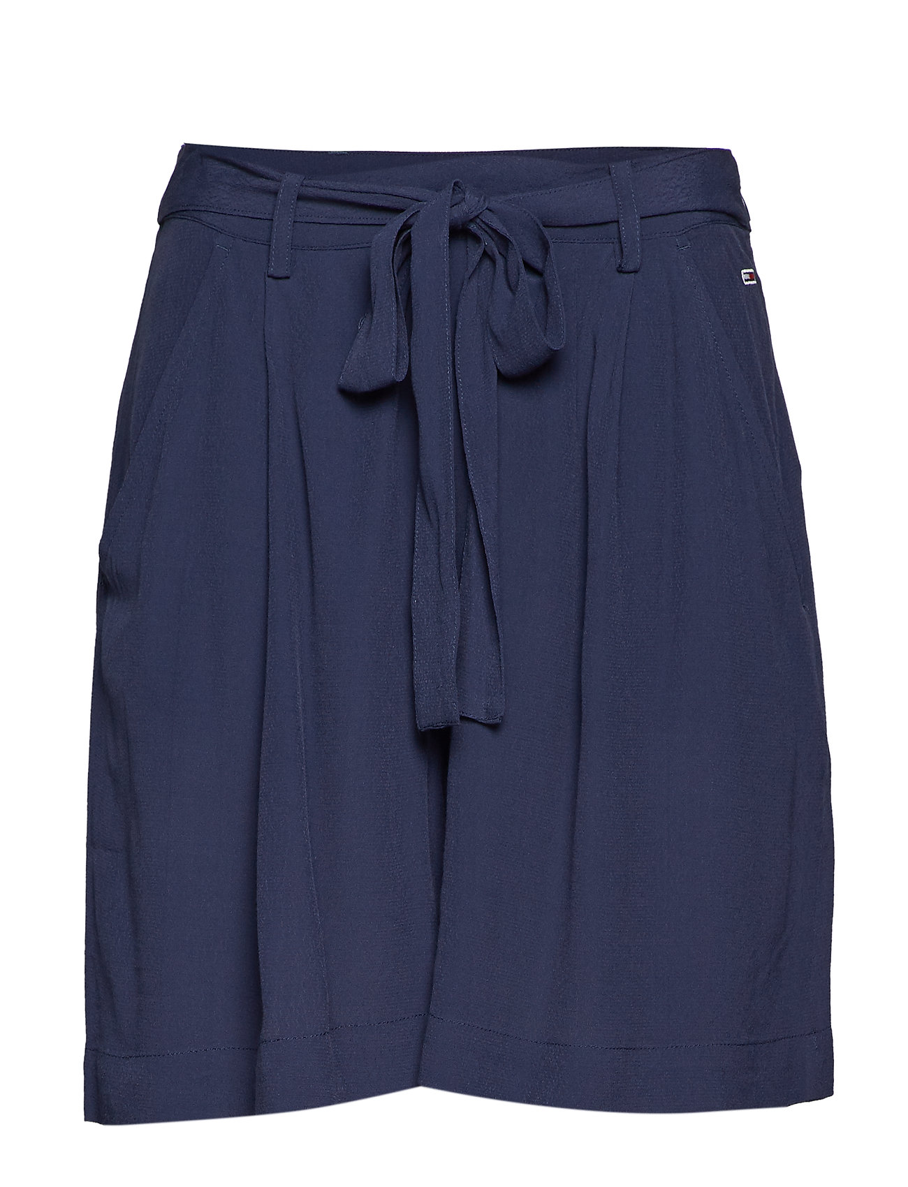 Tommy Jeans TJW FLUID BOW DETAIL SHORT - BLACK IRIS