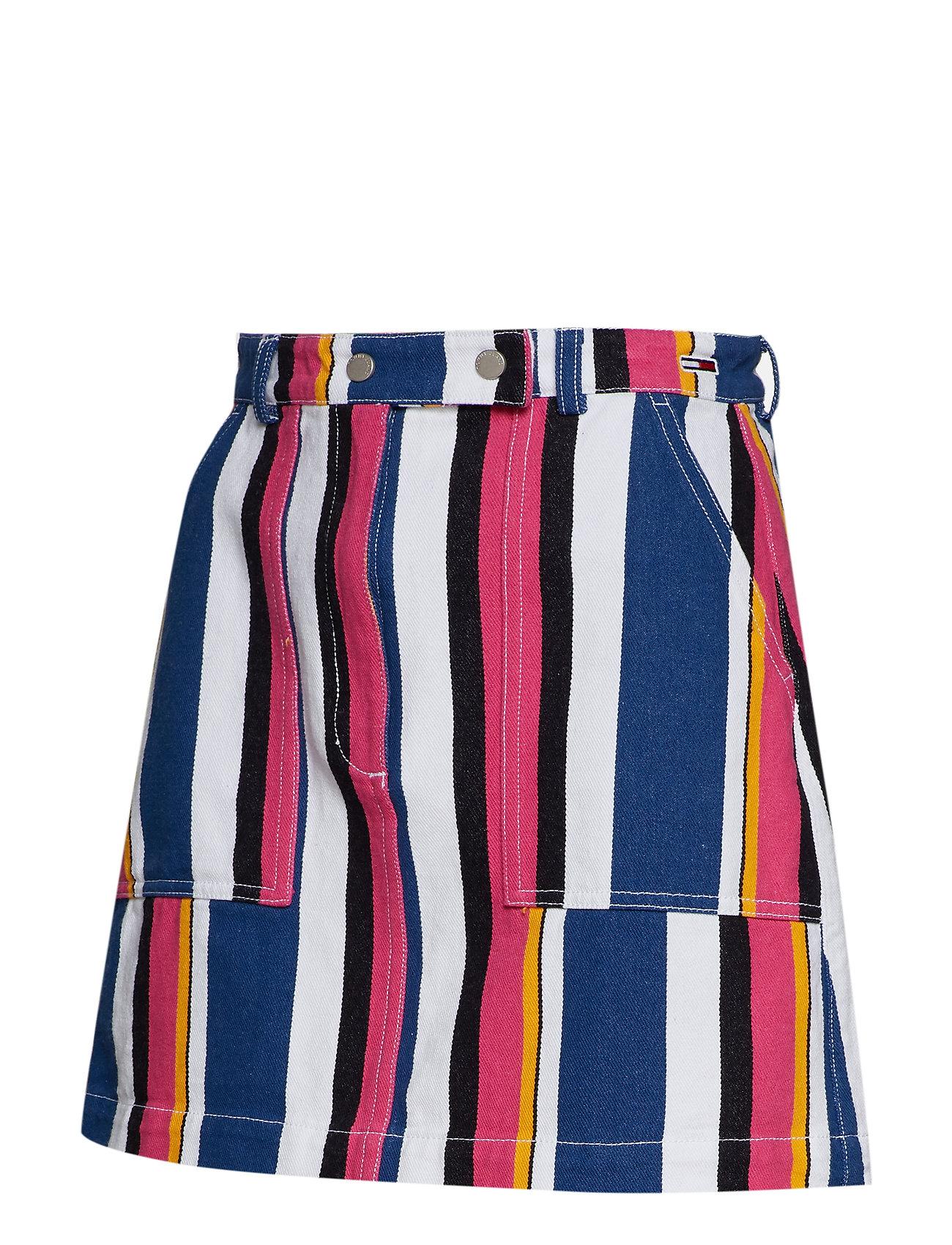 Tjw MultistripeTommy Jeans Stripe Skirtbold Carpenter nX80OwPk