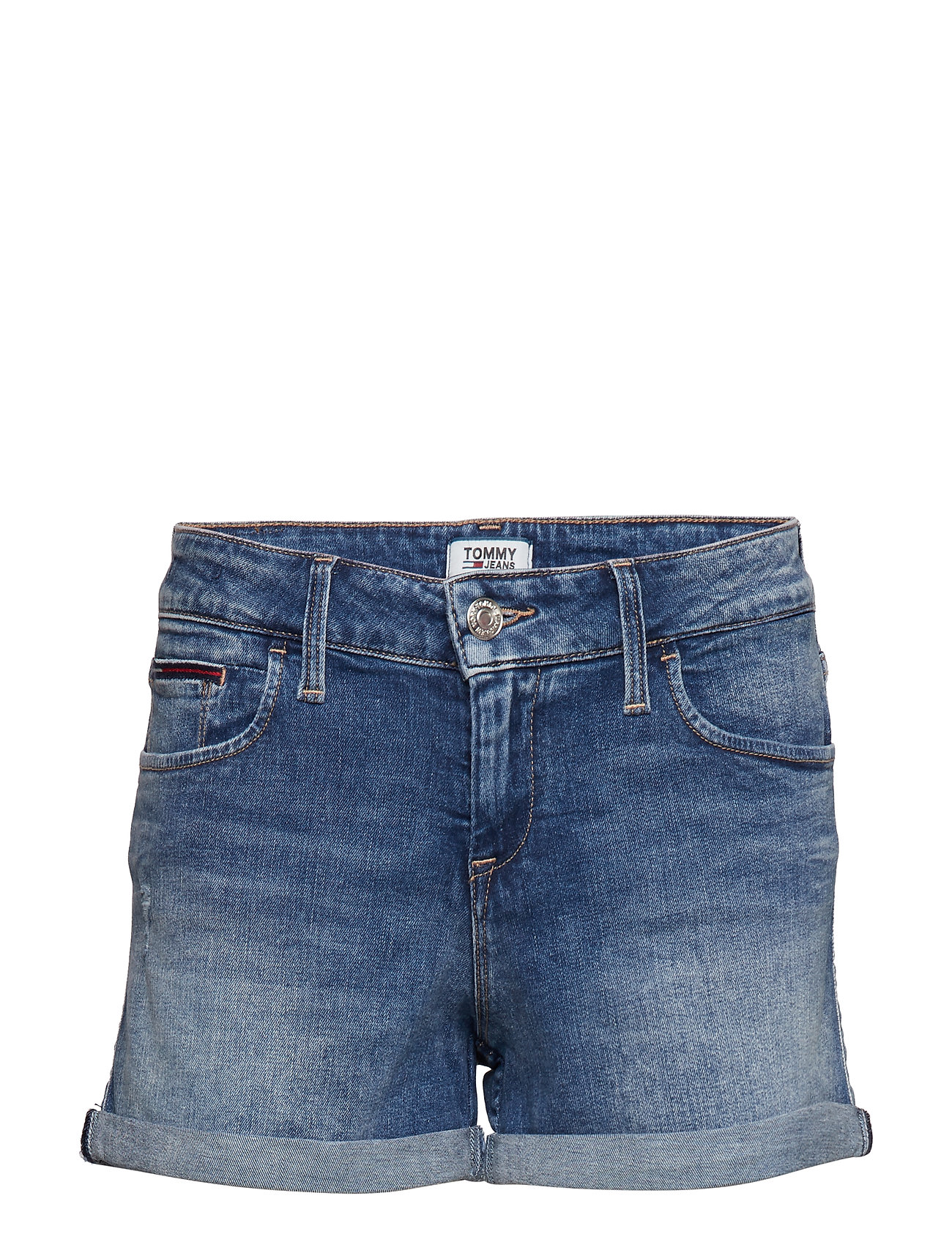 Tommy Jeans CLASSIC DENIM SHORT JYMBS - JOY MID BLUE STR