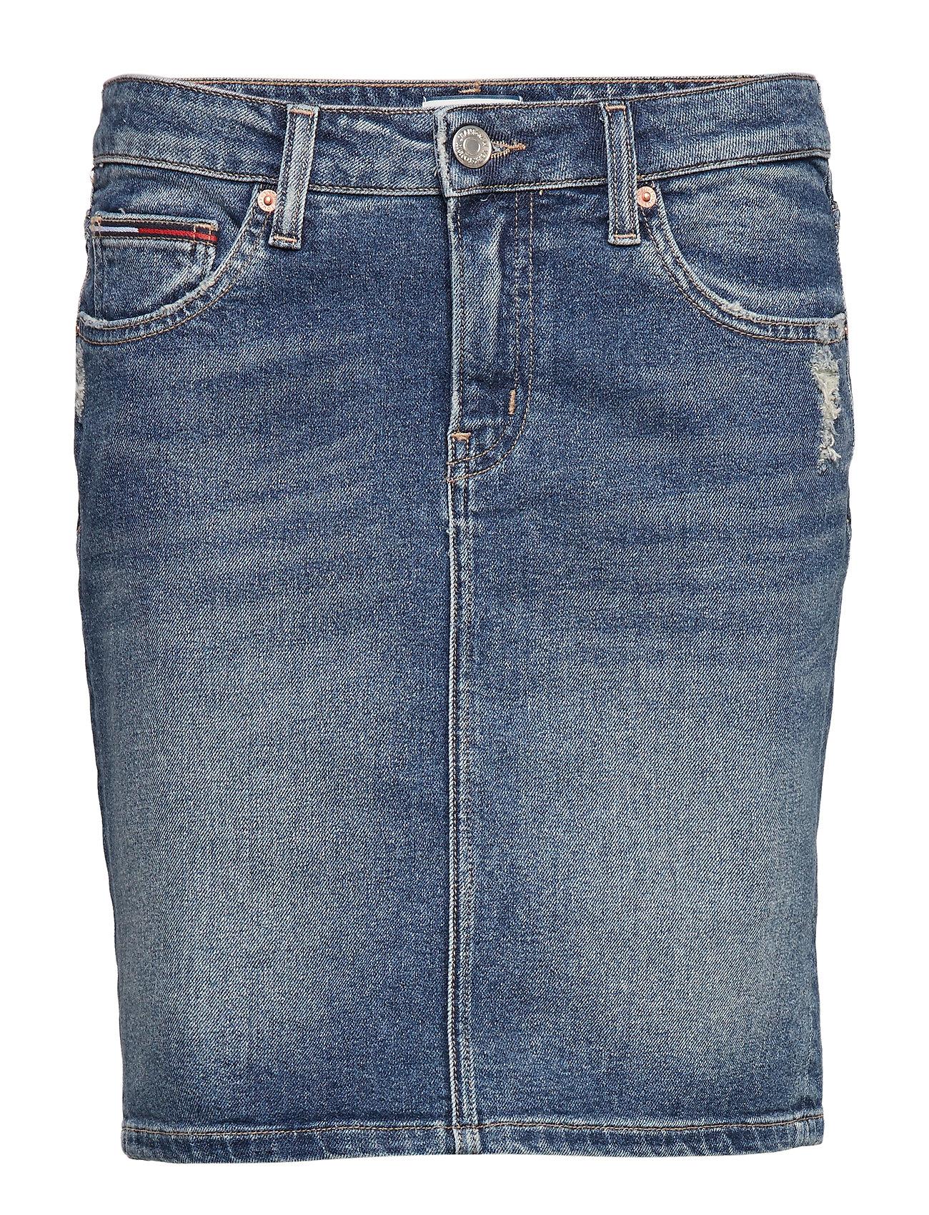 Tommy Jeans REGULAR DENIM SKIRT, - CALI MID BL COM