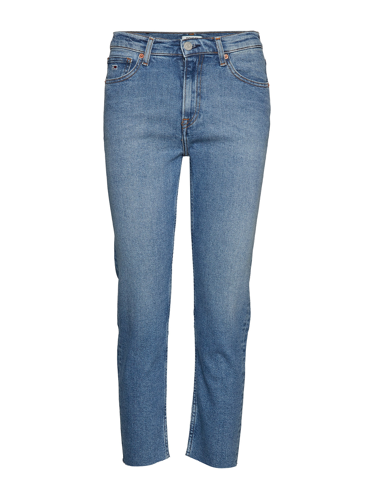 Tommy Jeans HIGH RISE SLIM IZZY - ACE LT BL COM