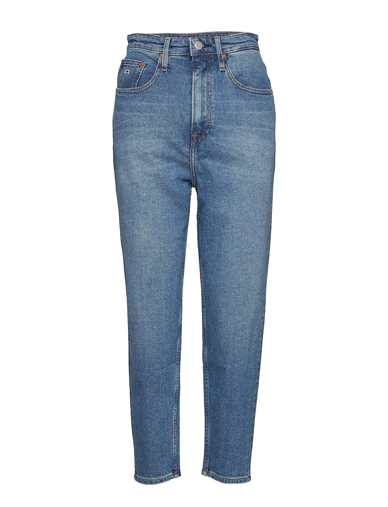 Tommy Jeans HIGH RISE TAPERED TJ - ACE LT BL COM