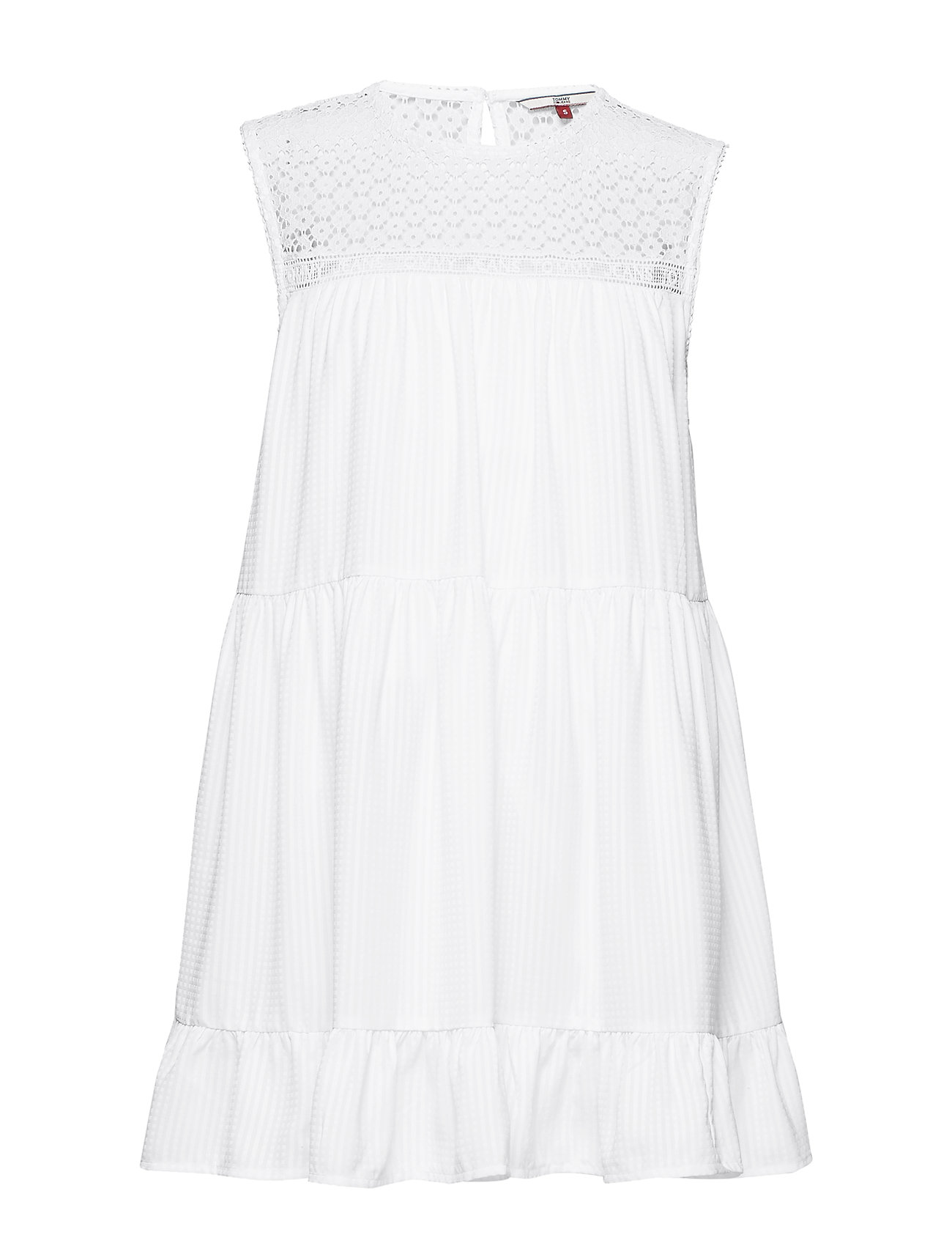 Tommy Jeans TJW SUMMER SLEEVELES - CLASSIC WHITE