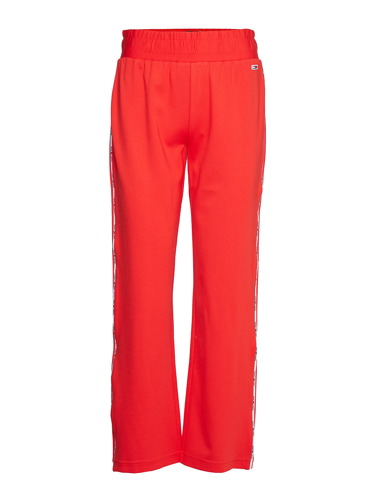 Tommy Jeans TJW TRACK PANT - FLAME SCARLET