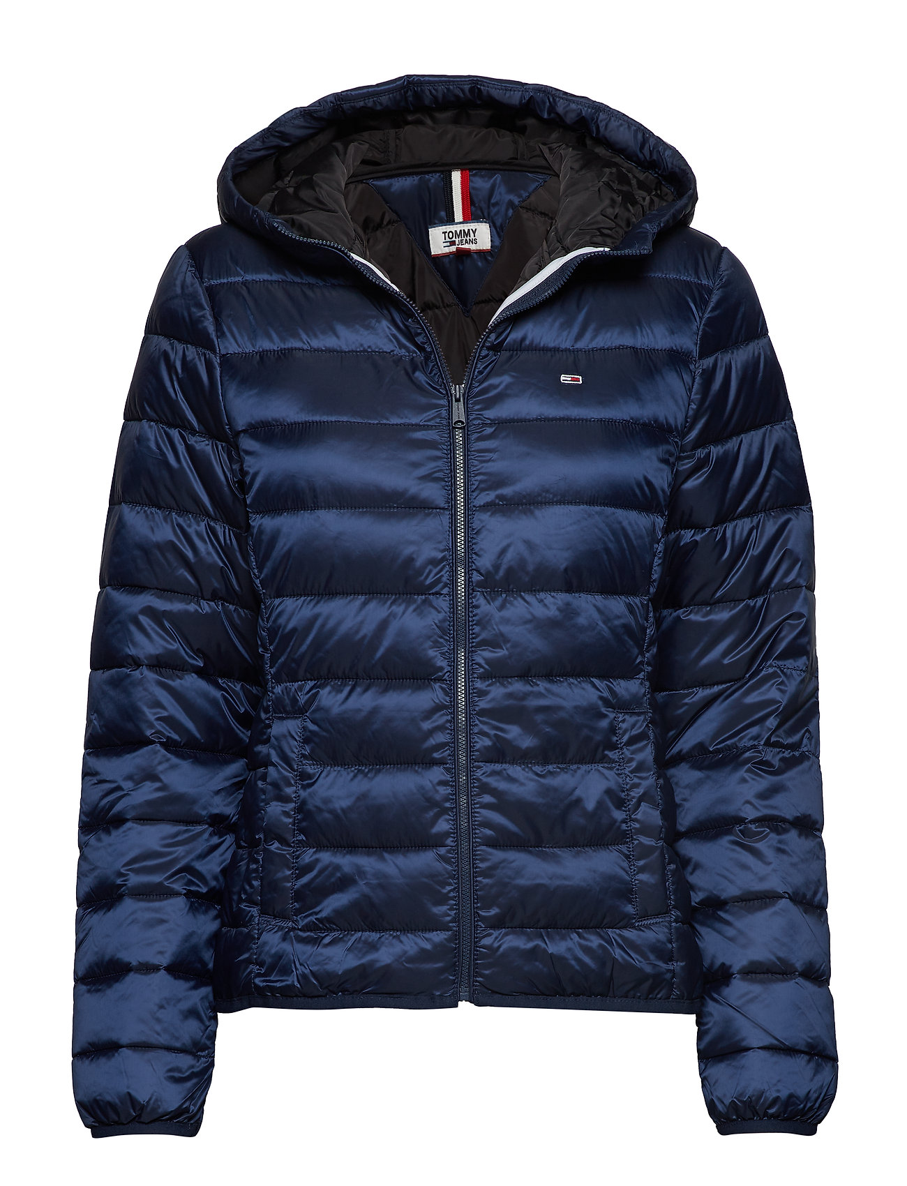 Tommy Jeans TJW QUILTED ZIP THRU - BLACK IRIS