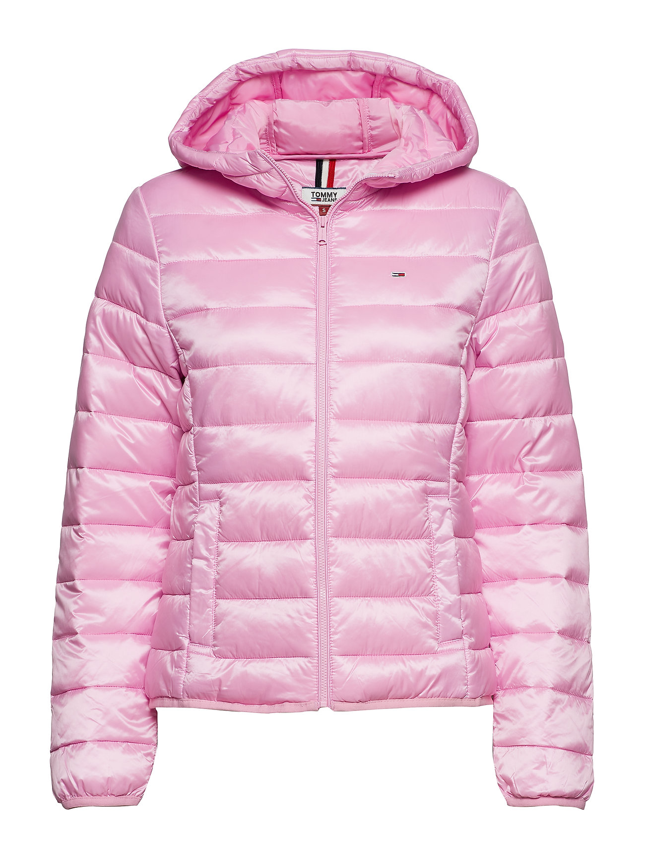 Tommy Jeans TJW QUILTED ZIP THRU - LILAC CHIFFON