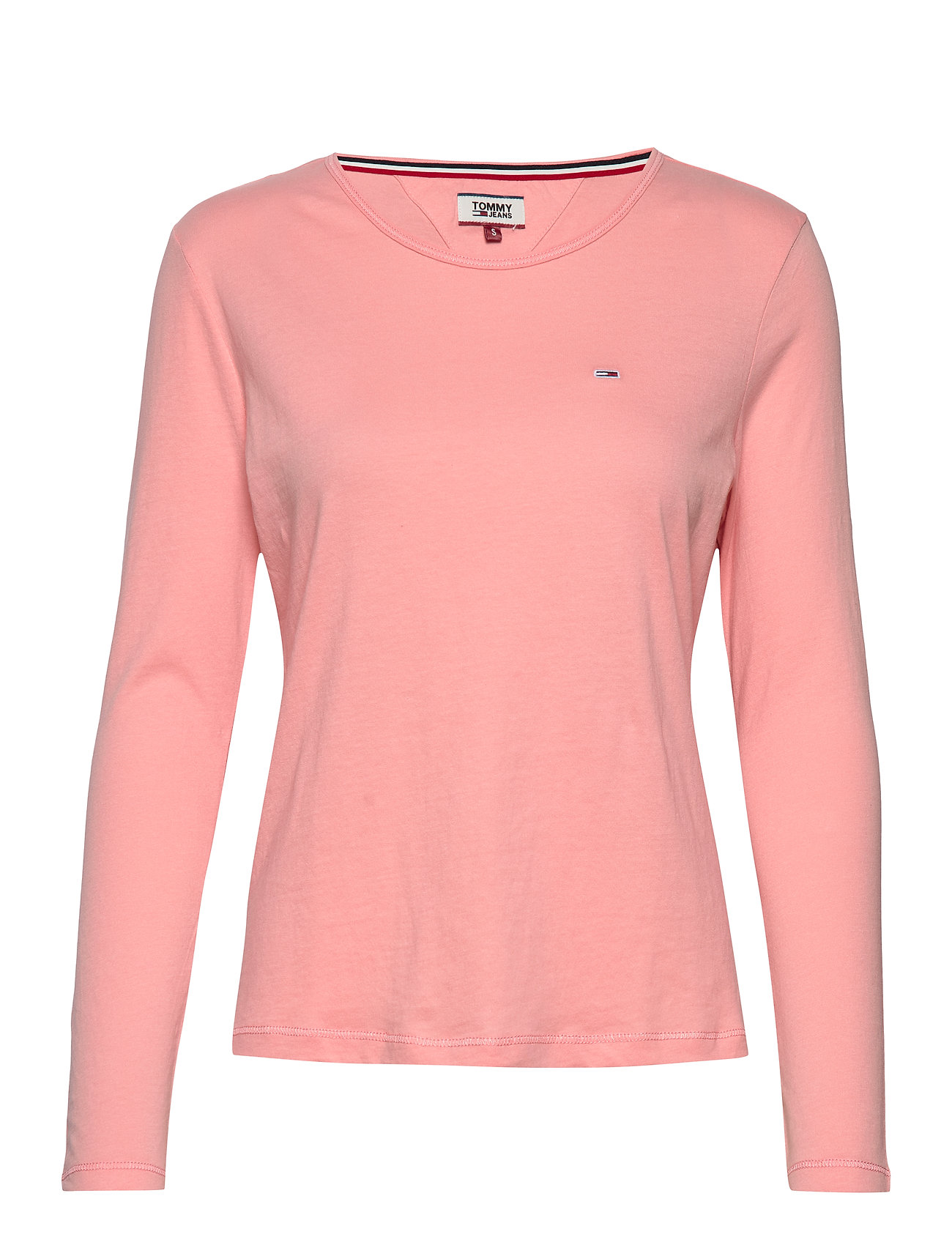 Tommy Jeans TJW SOFT JERSEY LONG - PINK ICING