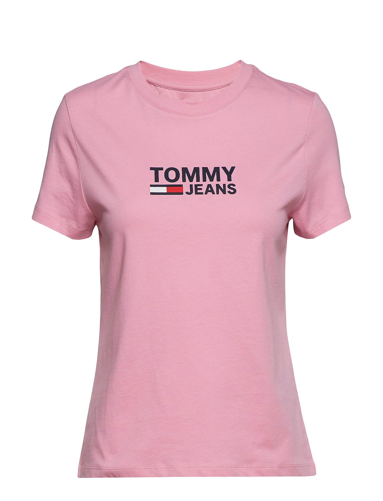 Tommy Jeans TJW CORP LOGO TEE - LILAC CHIFFON