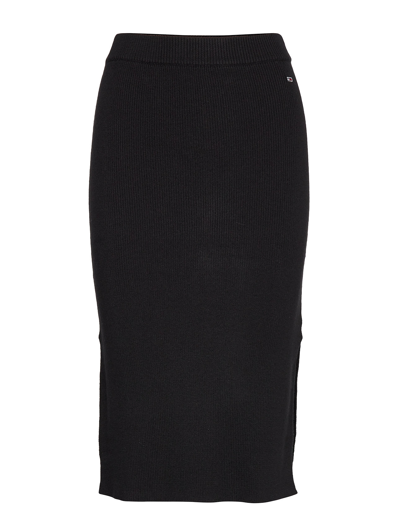 Tommy Jeans TJW TAPE DETAIL SKIRT - TOMMY BLACK
