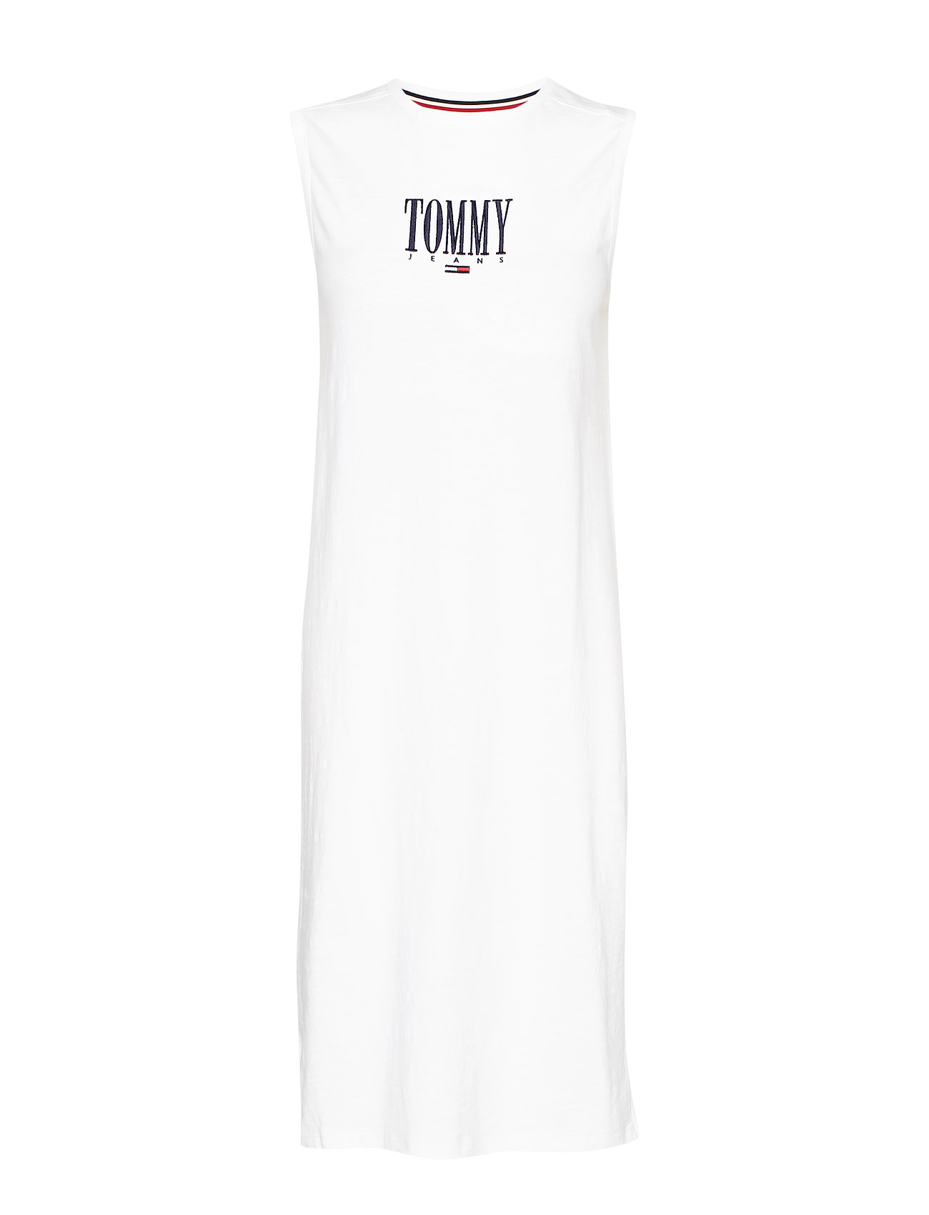 Tommy Jeans TJW EMBROIDERY TANK - CLASSIC WHITE