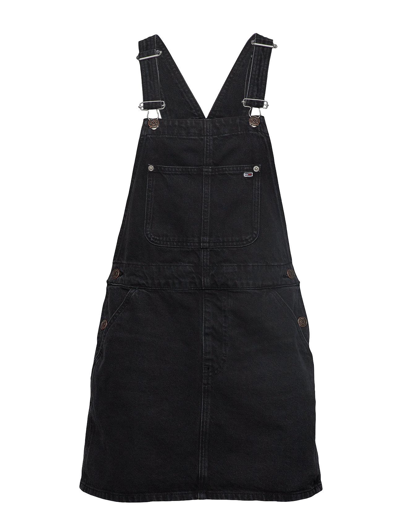 Tommy Jeans TJW DRESS DUNGAREE TJSVBK - TJ SAVE BK RIG