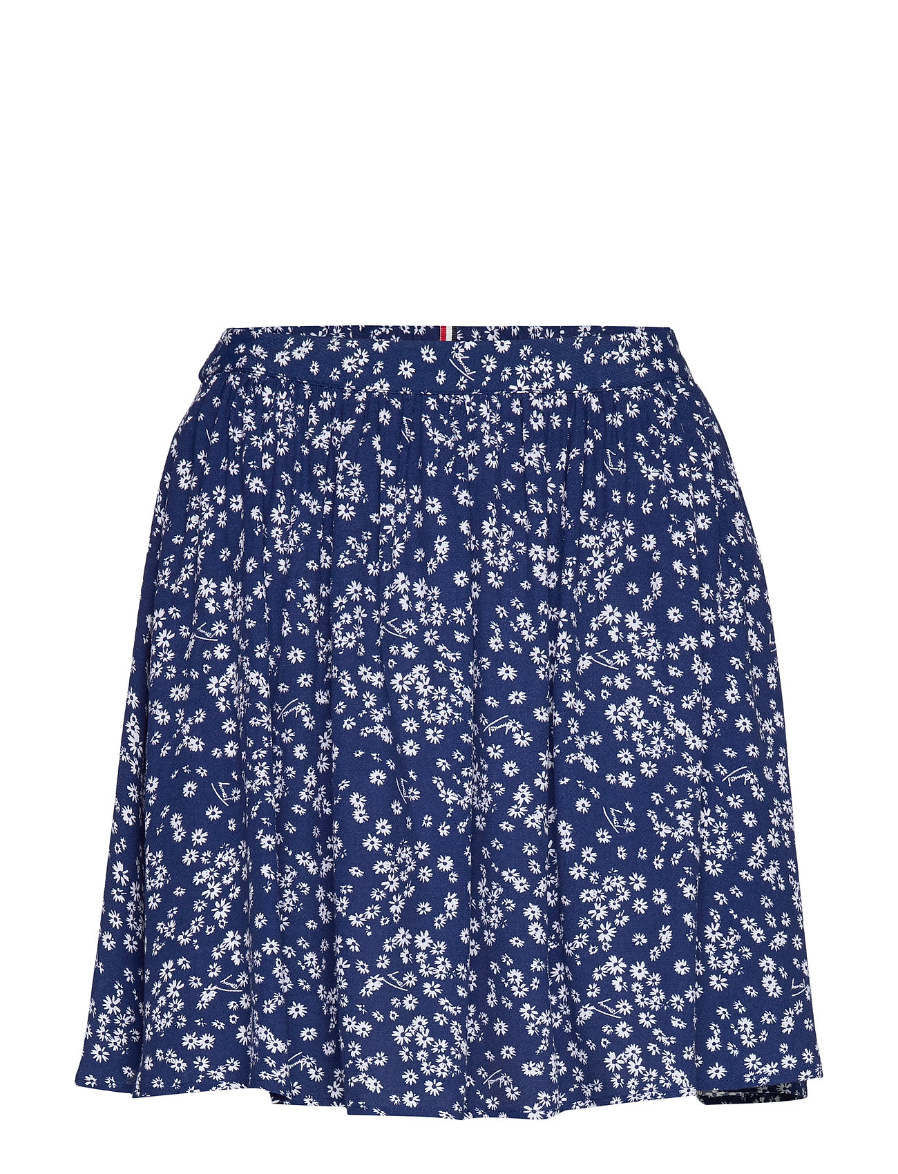 Tommy Jeans TJW GATHERED MINI SKIRT - SCATTERED FLORAL / BLUE DEPTHS