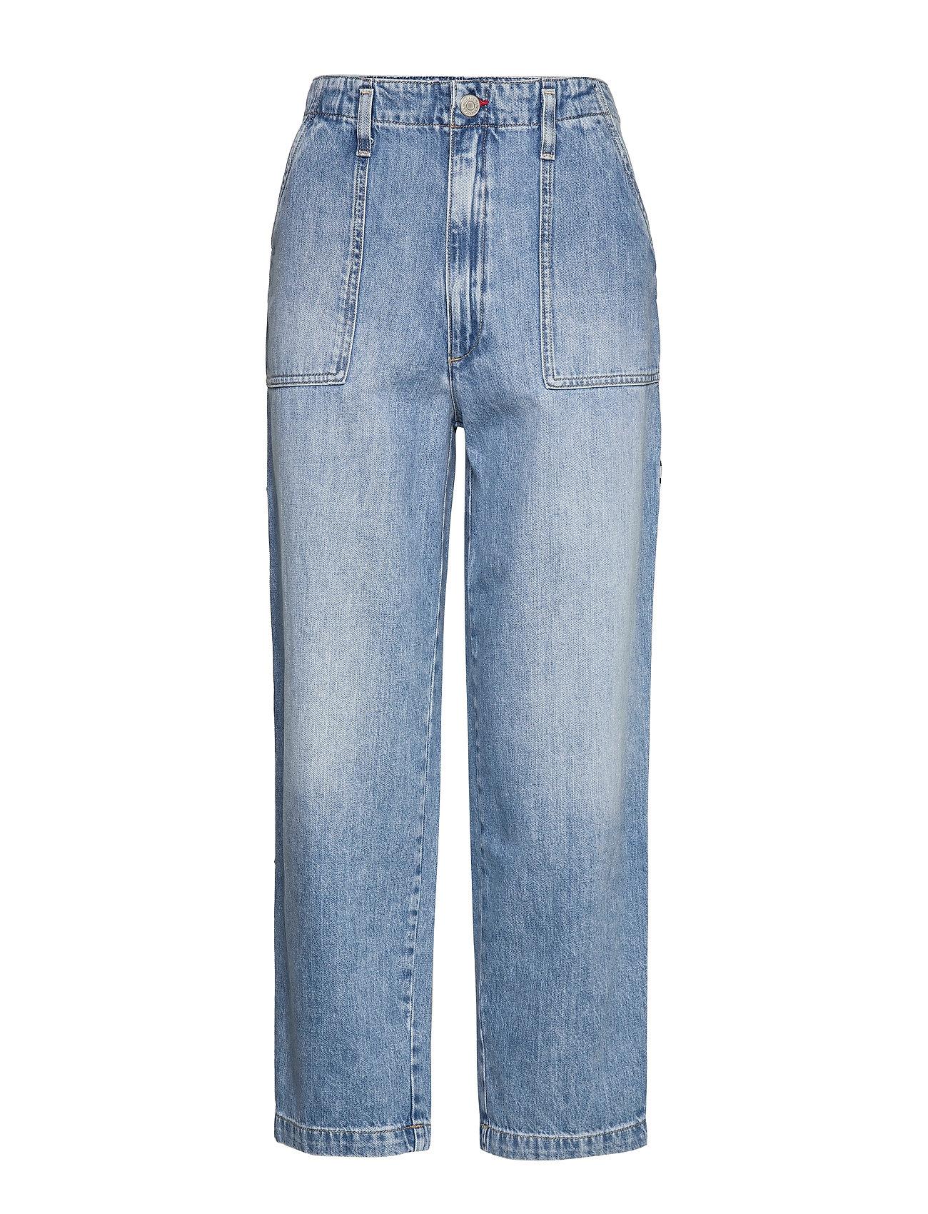 Tommy Jeans CARGO PANT  NTSLR - 90S LIGHT BL RIG