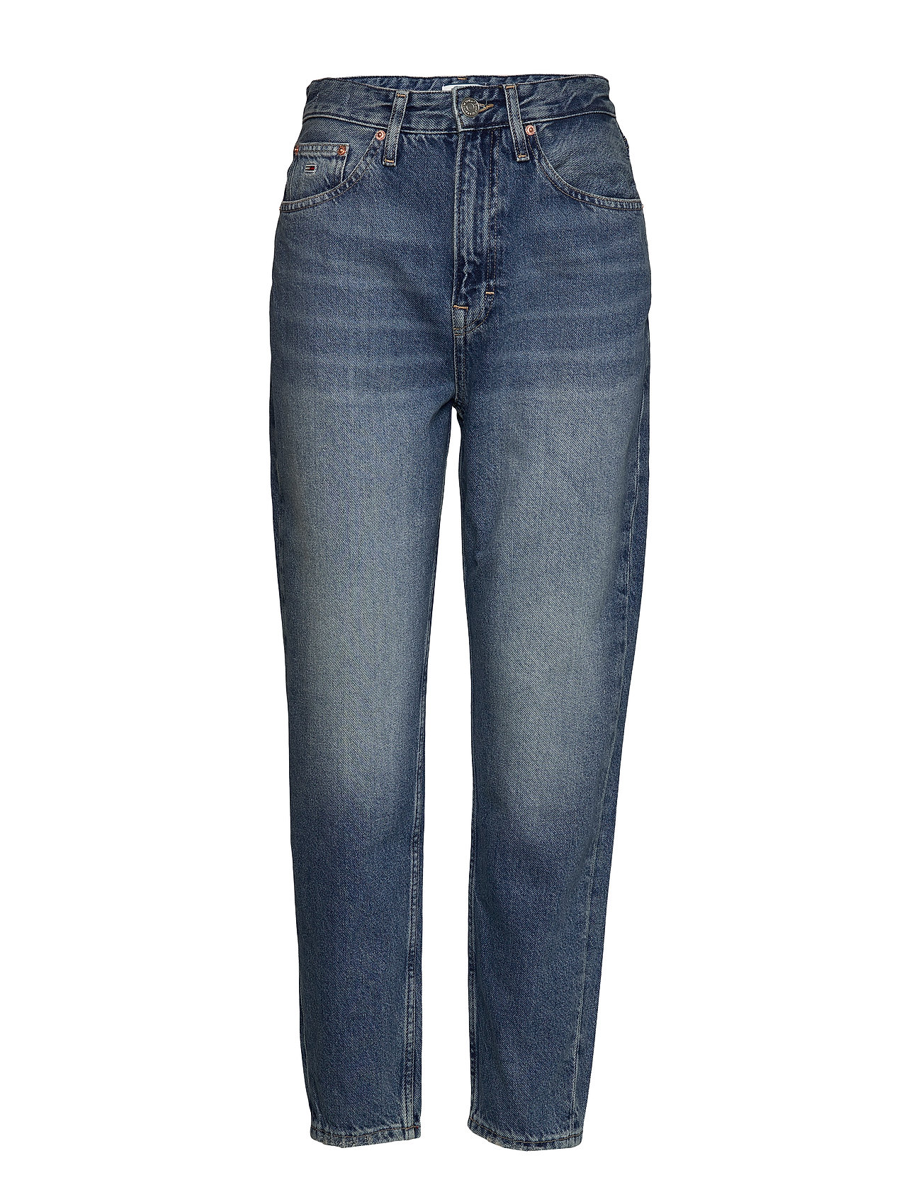 Tommy Jeans MOM JEAN HIGH RISE TAPERED SNDM - SUNDAY MID BL RIG