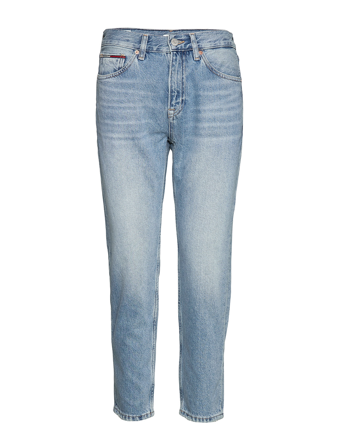 Tommy Jeans IZZY HIGH RISE SLIM ANKLE SNDL - SUNDAY LT BL RIG