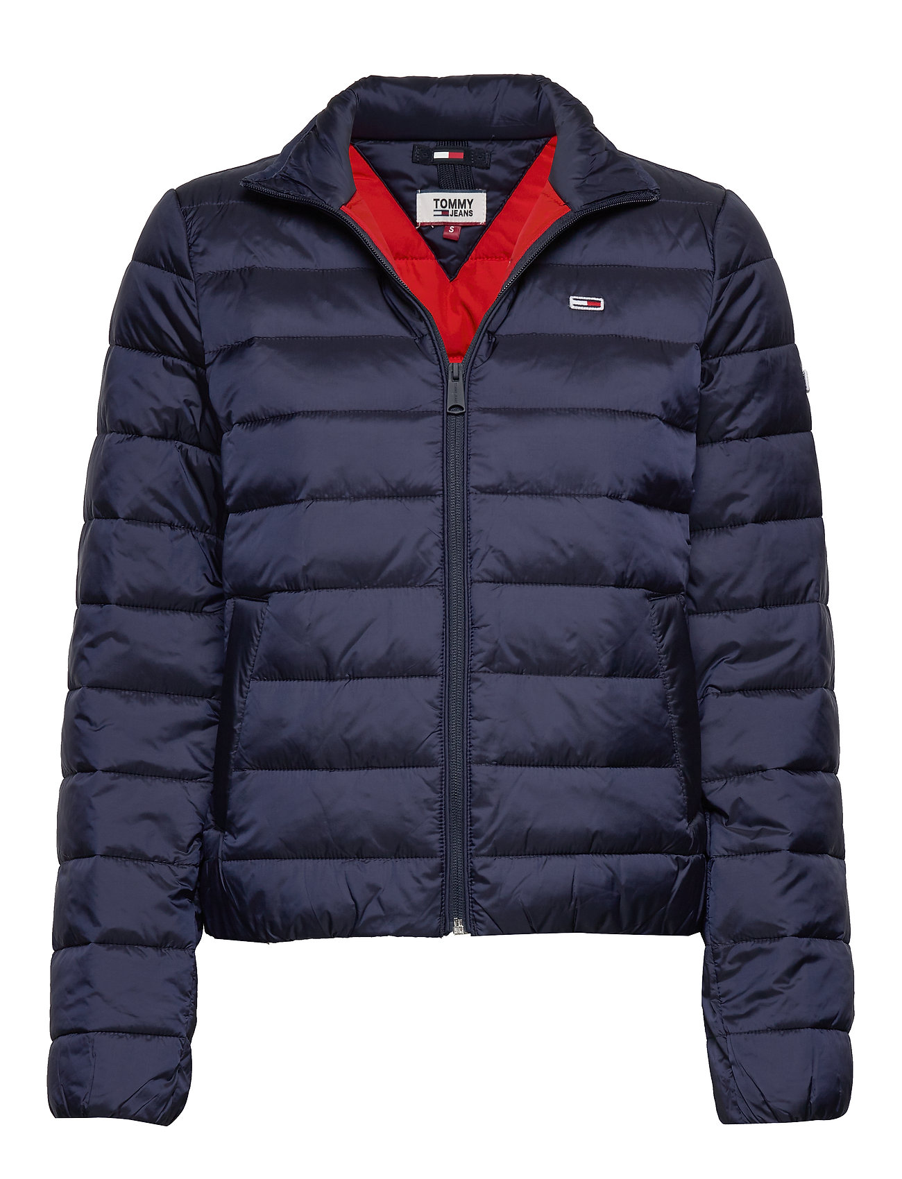 Tommy Jeans TJW QUILTED ZIP THRU - TWILIGHT NAVY