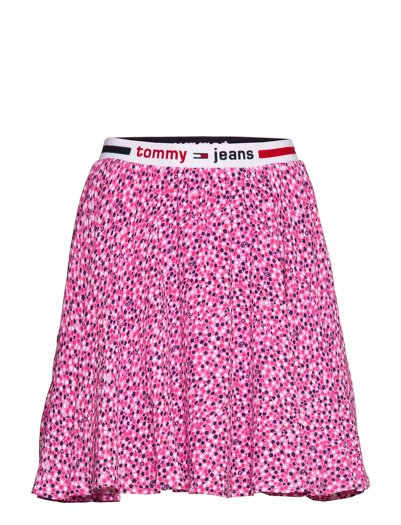 Tommy Jeans TJW PRINTED MINI SKIRT - DITSY FLORAL PRINT / PINK DAIS