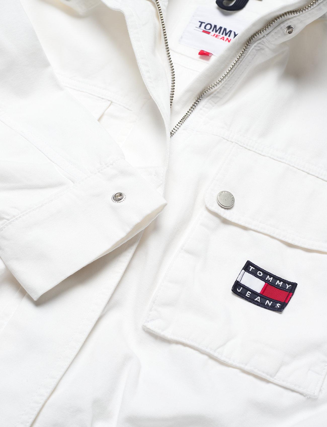 Tommy Jeans - TJW CROP UTILITY JACKET - utility-jakker - white - 2