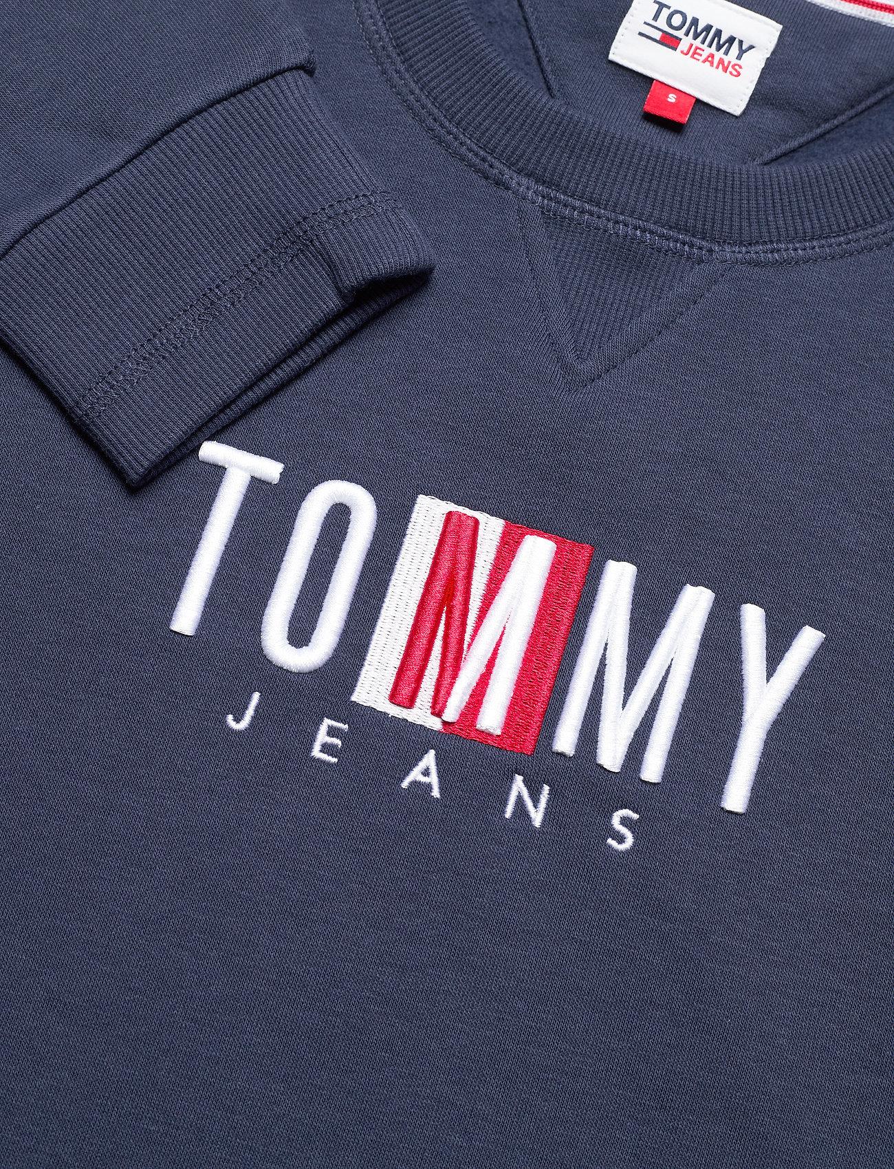 Tommy Jeans - TJW BXY TIMELESS BOX SWEATSHIRT - sweatshirts & hættetrøjer - twilight navy - 2