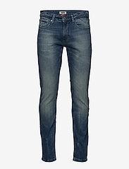Tommy Jeans - SLIM SCANTON BEMB - slim jeans - berry mid blue comfort - 0