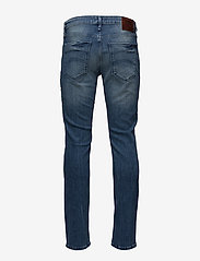 Tommy Jeans - SLIM SCANTON BEMB - slim jeans - berry mid blue comfort - 1
