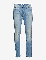 Tommy Jeans - SLIM TAPERED STEVE BELB - slim jeans - berry light blue comfort - 0