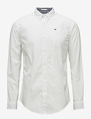 Tommy Jeans - TJM ORIGINAL END ON - business skjorter - classic white - 0