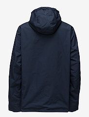 Tommy Jeans - TJM LOGO PULLOVER JA - light jackets - black iris - 1