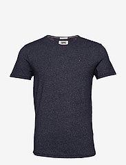 Tommy Jeans - TJM ESSENTIAL JASPE TEE - short-sleeved t-shirts - black iris - 0
