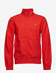 Tommy Jeans - TJM CASUAL COTTON JACKET - light jackets - flame scarlet - 1