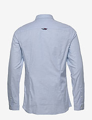 Tommy Jeans - TJM STRETCH OXFORD S - basic shirts - shoreside blue - 1