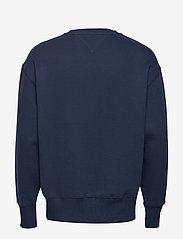 Tommy Jeans - TJM TOMMY BADGE CREW - basic sweatshirts - black iris - 2