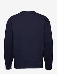 Tommy Jeans - TJM TOMMY BADGE CREW - kläder - twilight navy - 1