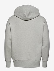 Tommy Jeans - TJM TOMMY BADGE HOODIE - hoodies - light grey htr - 1