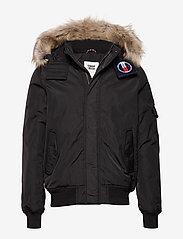 Tommy Jeans - TJM TECH JACKET - padded jackets - tommy black - 0