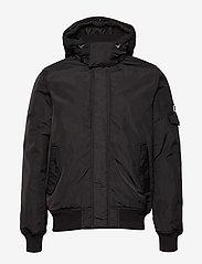Tommy Jeans - TJM TECH JACKET - padded jackets - tommy black - 2
