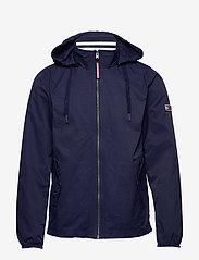 Tommy Jeans - TJM ESSENTIAL HOODED JACKET - light jackets - black iris - 1