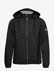 Tommy Jeans - TJM ESSENTIAL HOODED JACKET - light jackets - tommy black - 1