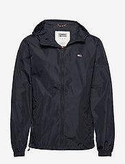 Tommy Jeans - TJM PACKABLE WINDBREAKER - light jackets - black - 1