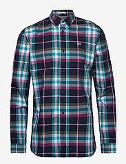 Tommy Jeans - TJM ESSENTIAL CHECK SHIRT - rutede skjorter - twilight navy / multi - 0