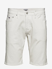 Tommy Jeans - SCANTON HERITAGE SHORT MRWH - denim shorts - mars white com - 0