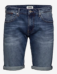 Tommy Jeans - RONNIE  RELAXED SHOR - farkkushortsit - devi mid bl com - 0